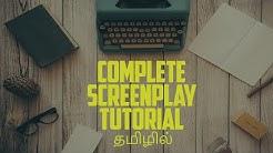 How to Write a Screenplay - Advanced | திரைக்கதை எழுதுவது எப்படி | Complete Script Writing Tutorial