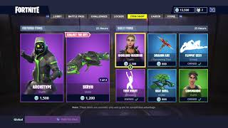 *NEW* DAILY ITEM SHOP TODAY! | SKIN RESET! | FORTNITE BATTLE ROYALE (6/8/2018)