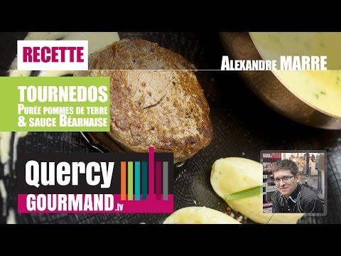 Recette : TOURNEDO, purée pommes de terre & sauce béarnaise – quercygourmand.tv