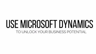 Microsoft Dynamics Training - WebSan University