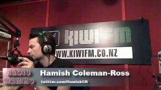 TV on the Radio: Hornets, Breakfast TV, TVNZ 7, Real NZ Hussel 26-3-10 Radio Wammo Show, Kiwi FM