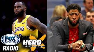 Anthony Davis is on the Trade Market & Could LeBron James Leave the Lakers?