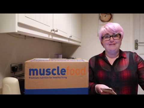 MuscleFood Family Hamper Unboxing