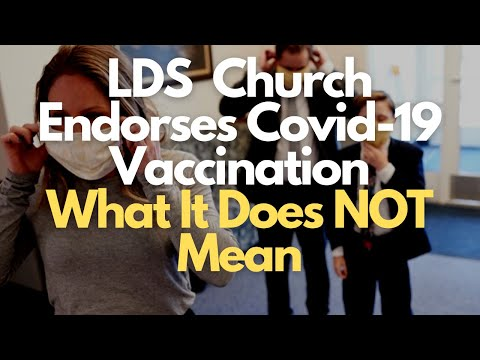 LDS Church Position on Vaccine - What It Does NOT Mean