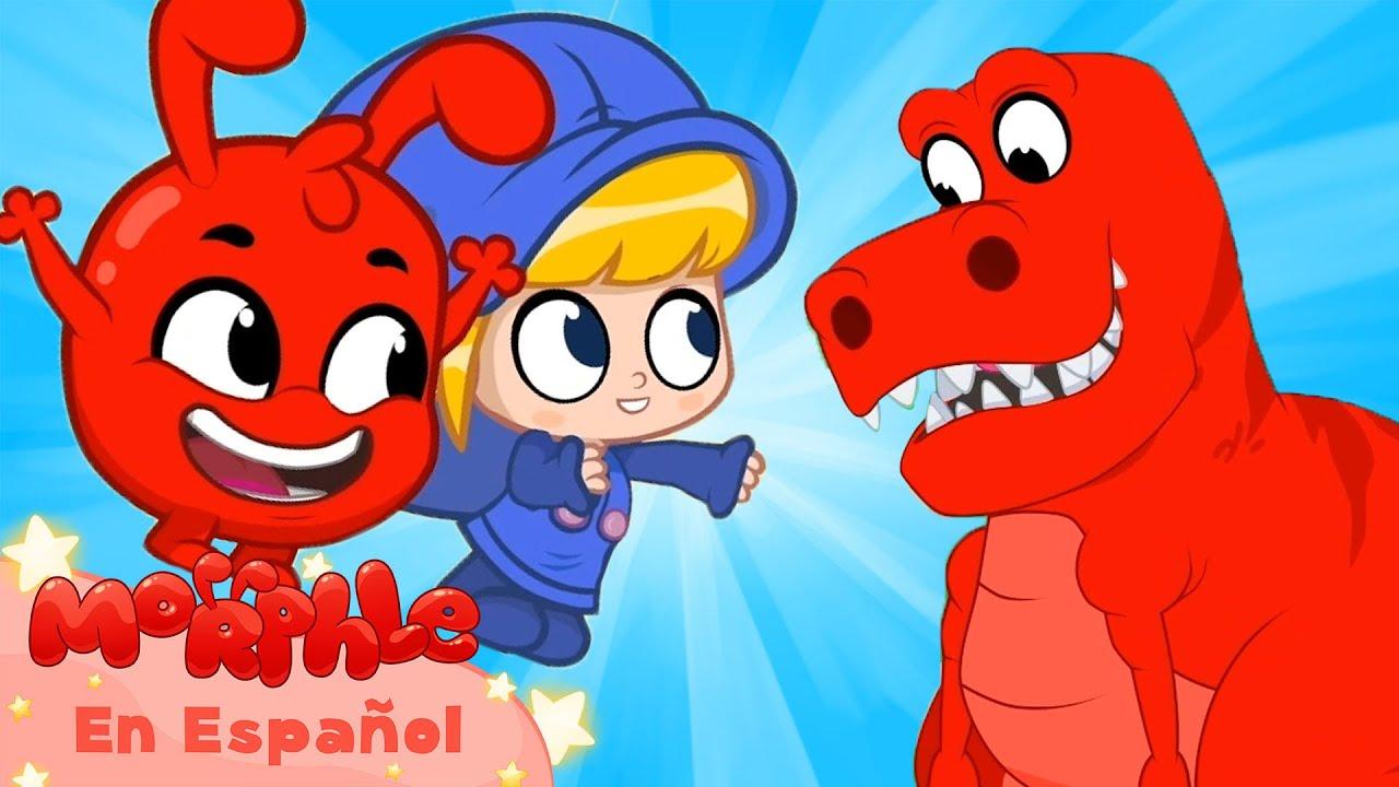 Morphle en Español | Revisitando los juguetes de dinosaurios | Caricaturas para Niños | en Español