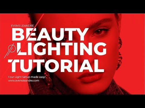 beauty-photography-lighting-setup-|-studio-setup