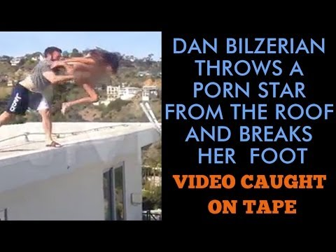 Play Boy Dan Bilzerian Throws A A Girl From The Roof And Breaks Her Foot Janice Caught On Tape
