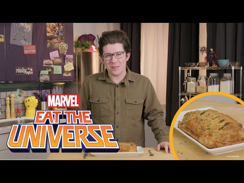 Angel-Inspired Meat Loaf Wellington | Eat the Universe