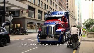 Transformers: A Era da Extinção -Bastidores Novos Carros (sub)
