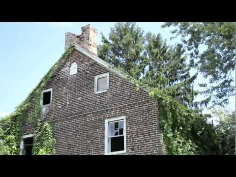 Abandoned 1754 Asher Woolman Farmhouse - Burlington County, NJ