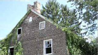 Abandoned 1754 Asher Woolman Farmhouse - Burlington County, NJ