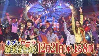 2017年12月21日よる8時『ネプ&ローラの爆笑まとめ! 2017』 ネプチュー...