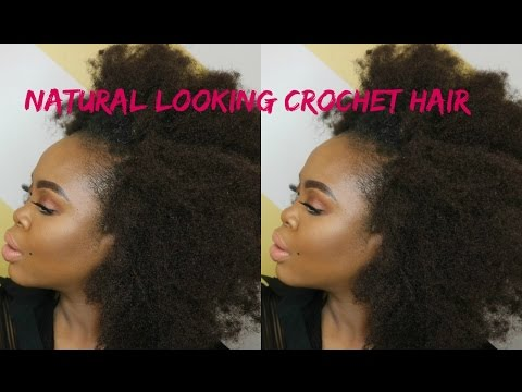 Natural Looking Crochet Hair: Janet Collection 4c Mambo Crinkly Afro Kinky