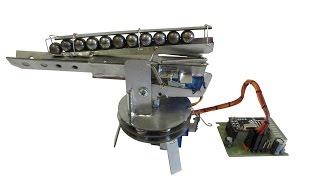Как сделать робота своими руками (боевая турель) Часть4(В предыдущих видео как сделать робота своими руками, по проекту турель подробно все показал как сделать..., 2015-12-11T09:47:14.000Z)