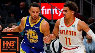 Golden State Warriors vs Atlanta Hawks Full Game Highlights | 12.03.2018, NBA Season