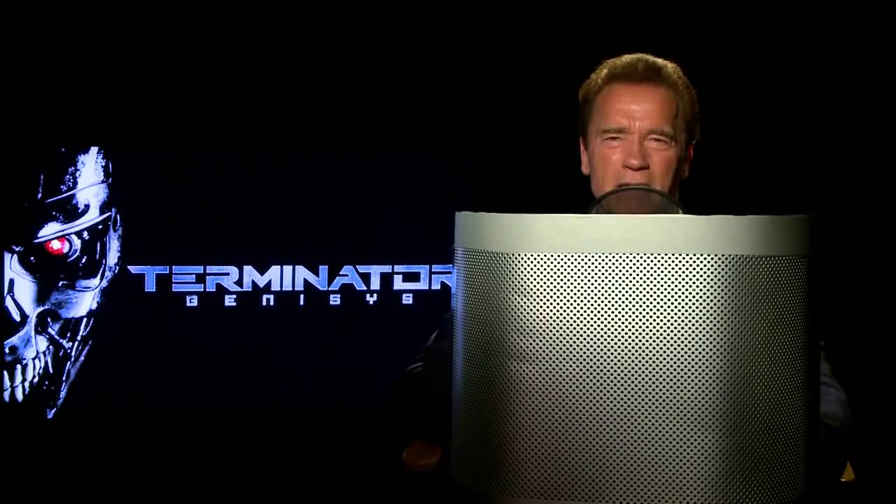 Arnold Schwarzenegger Records Voice For Waze!