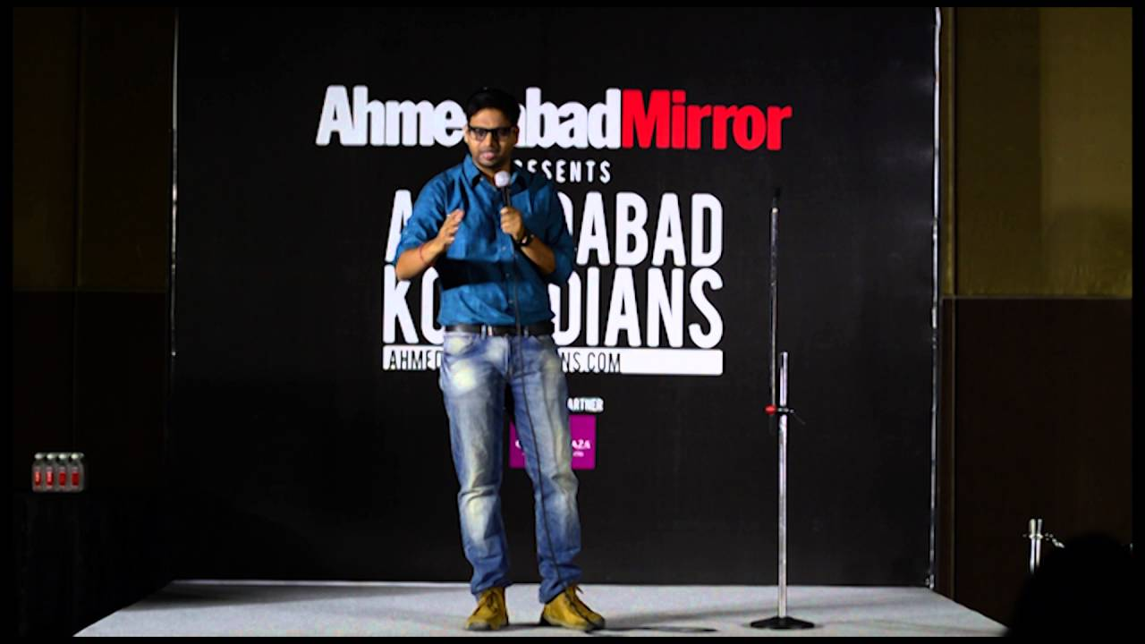 Comedy Video ❖ Ahmedabad Mirror ❖ Best Stand Up Comedians ❖ Indian Stand Up Comedian ❖ Sujit Pandey