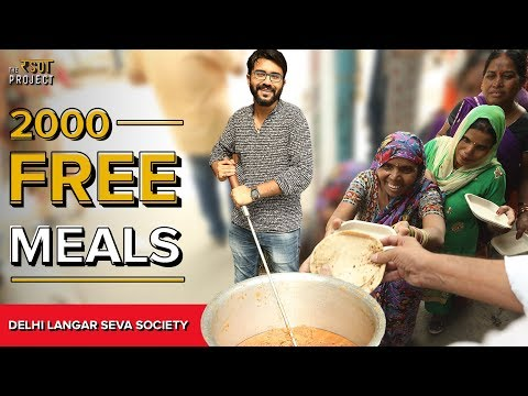 Motivational Story of Delhi Langar Seva Society | The Rasoi