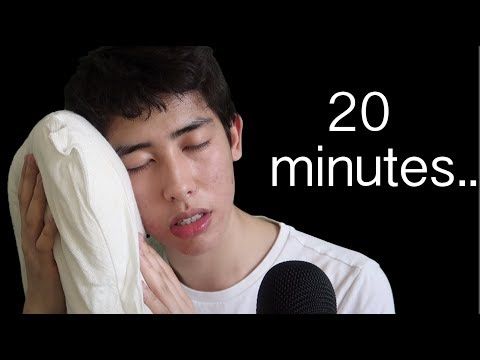 YOU will fall asleep in 20 minutes to this ASMR video