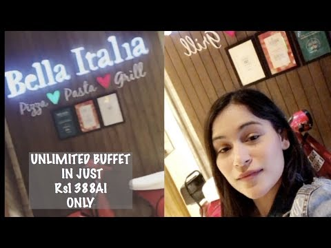 BELLA ITALIA || MOST GENUINE REVIEW || BEST ITALIAN RESTAURANT IN DELHI || KRITIKA SHARMA