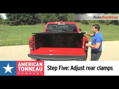 American Tonneau Tri Fold Tonneau Cover How To Install American Folding Truck Bed Covers Youtube