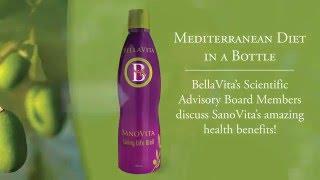 SanoVita. The Mediterranean diet in a bottle.