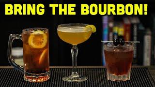 Easy Bourbon Cocktails t๐ Make at Home