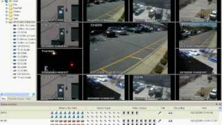 NUVICO EasyNet VMS Lite LIVE VIEWING DEMO, full res, full length