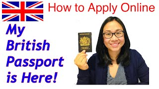 HOW TO APPLY FOR A BRITISH PASSPORT ONLINE / UNBOXING MY UK PASSPORT / PROCESSING TIMELINE /2021