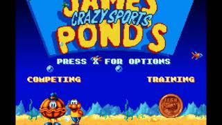James Pond Aquatic Games SNES Review