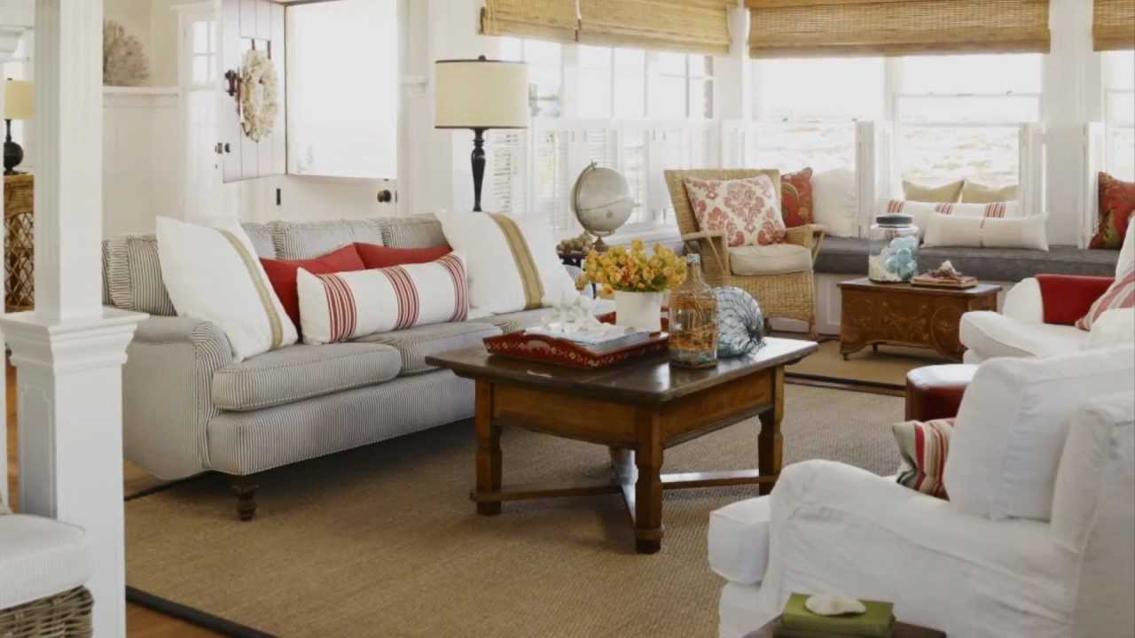 Interior decorating ideas for cottage style decor youtube for Cottage home decorations