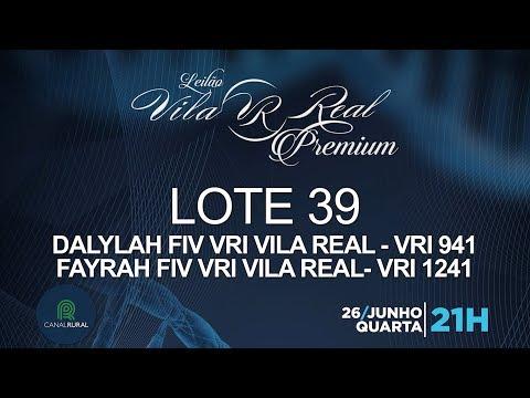 LOTE 39 (VRI 941/VRI 1241)