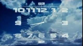 Часы Первого канала (утро, другая музыка)