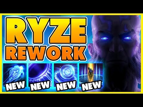 *NEW REWORK* THE MOST INSANE RYZE REWORK YET!!! (RIOTS GONE CRAZY) - BunnyFuFuu