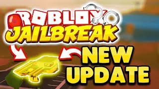 ROBBING GAS STATIONS, SECRET BADGES, BRIBING COPS, AND MORE! | Roblox Jailbreak New Update