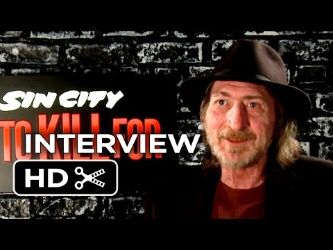 Sin City: A Dame To Kill For Interview - Frank Miller (2014) - Dark Horse Comics Movie HD