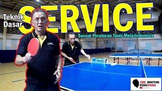 Tutorial dan Contoh Service Yang Benar dan Salah Sesuai Peraturan Tenis Meja Indonesia #5