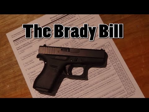 the brady handgun violence prevention act essay Biden revises nra history on background checks  reintroduced the brady handgun violence prevention act  in his essay on the history of the brady bill,.