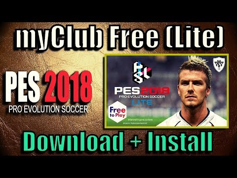 PES 2018 Lite - Free to Play myClub Online (Download for PC, PS3, PS4, Xbox) - 동영상