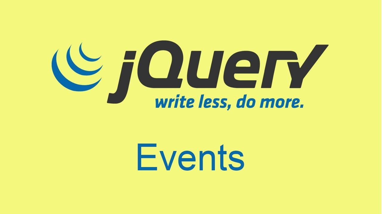 Understanding the jQuery Click Event