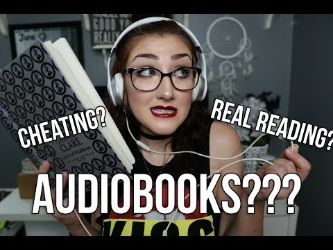 "ARE AUDIOBOOKS CONSIDERED ""REAL READING""?"