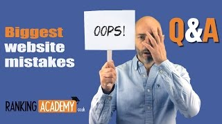 Biggest website mistakes small business owners make(It's not easy to launch and run a website to help your small business grow. There are many pitfalls to avoid. Find out how with this quick Q and A session where I ..., 2016-07-04T10:33:43.000Z)