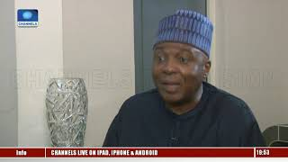 General Elections: PDP Contesting Against APC And Security Agents - Saraki