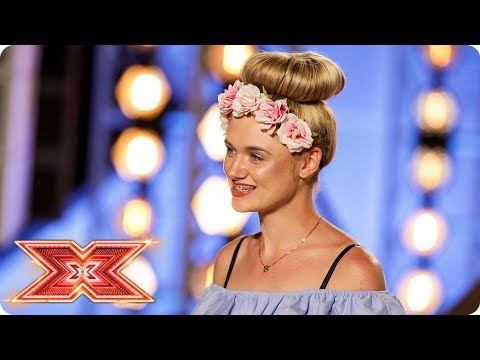 Chloe Rose Moyle sings original song Holding Out For Us | Auditions Week 3 | The X Factor 2017