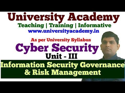 L16: Information Security Governance & Risk Management | Risk Analysis