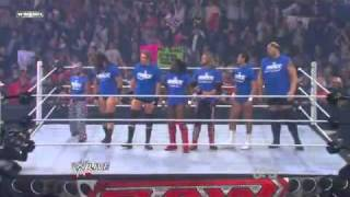 Battle Royal Team Smackdown vs Team RAW