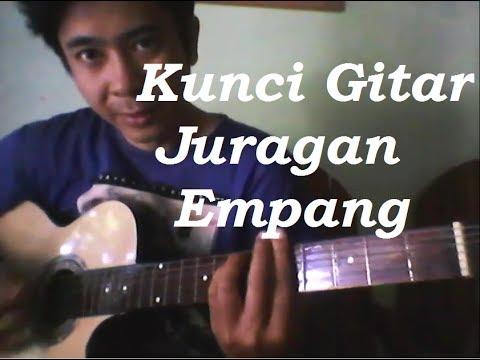Kunci gitar dangdut lagu juragan empang