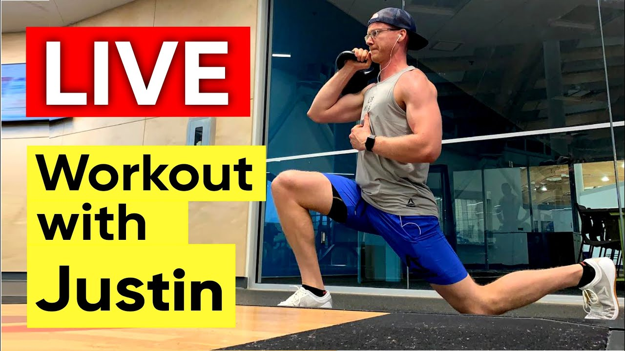 LIVE stream with JUSTIN SLIMM straight from Canada on the channel Home Workout Everyday!
