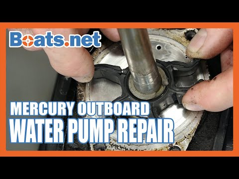 Mercury Tracker 25 Water Pump Repair | Mercury Tracker Water Pump Replacement | Boats.net