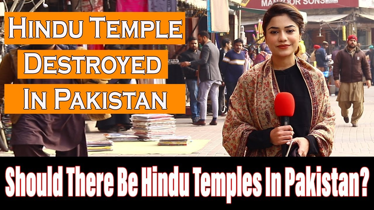 Should There Be HINDU TEMPLES In Pakistan ? | Pakistani Public Opinion By Maira Butt